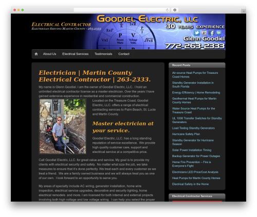 Themify iTheme2 WordPress theme - martincountyelectrician.com