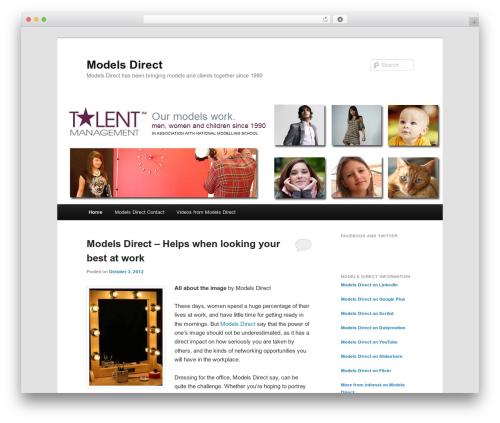 Twenty Eleven WordPress theme free download - modelsdirectuk.org