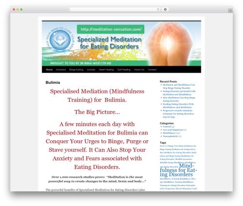 Twenty Ten free WP theme - meditation-sensation.com