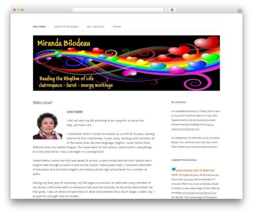 Free WordPress Cookies for Comments plugin - mirandabilodeau.com
