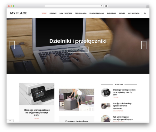 WP template Ultimate Conversion - my-place.pl