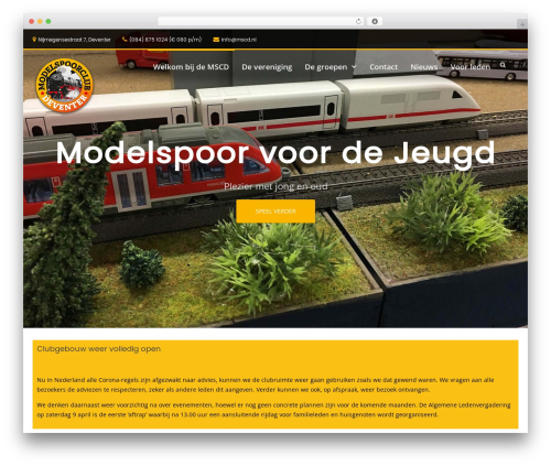 WP theme Suffice Pro - mscd.nl