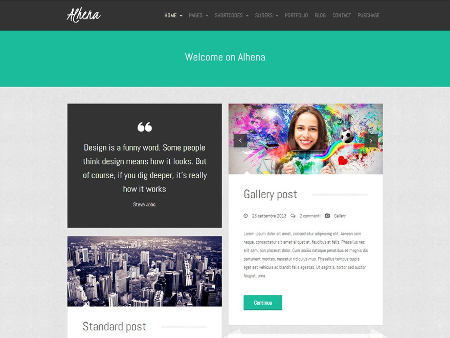 Alhena Lite free WordPress theme
