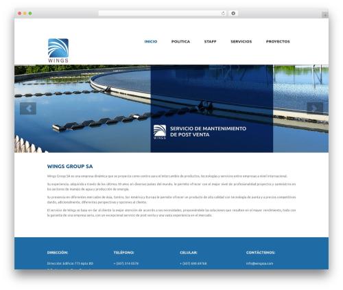 Anps's Shopifiq WordPress ecommerce theme - wingssa.com