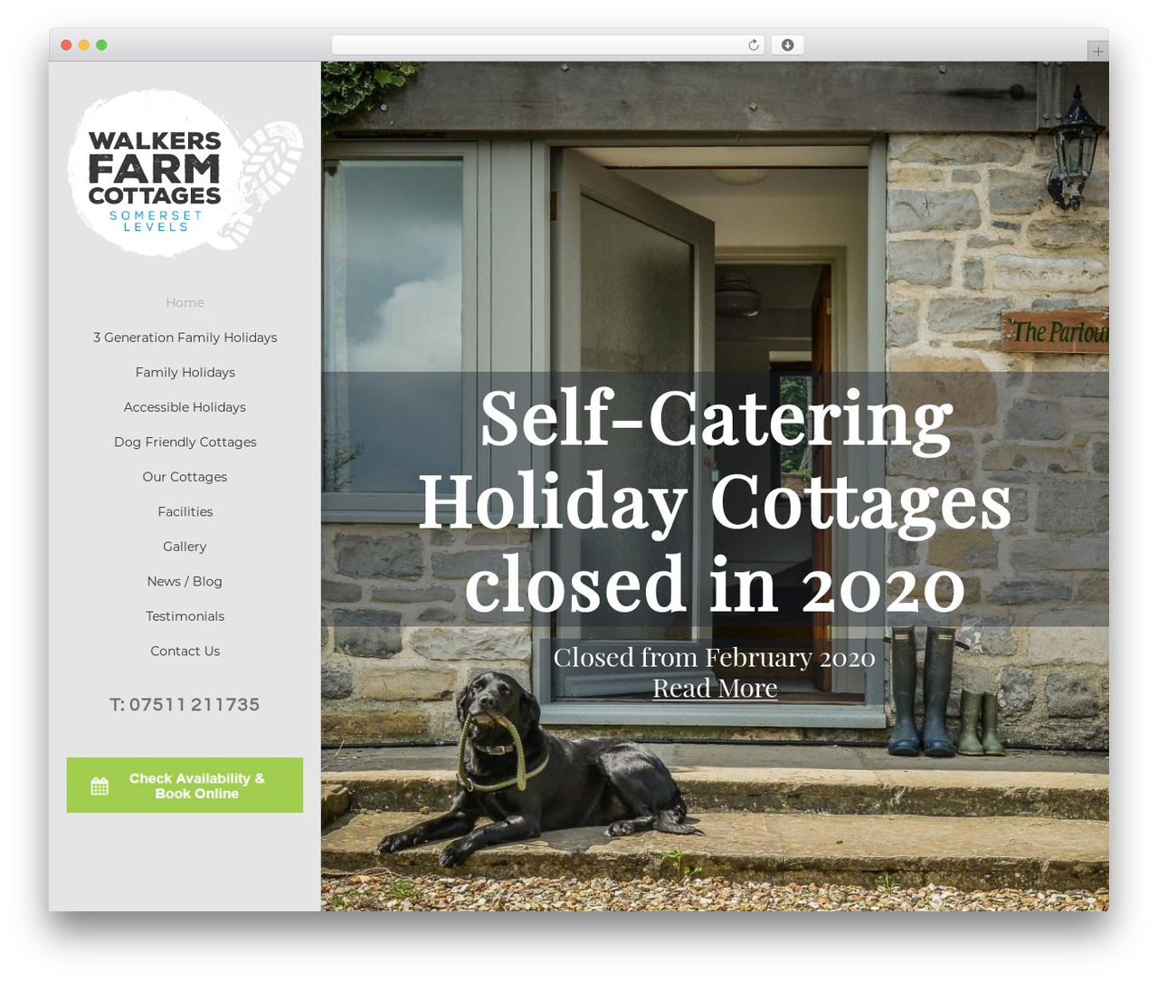 Avada best WordPress theme - walkersfarmcottages.co.uk