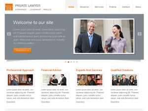 Best WordPress theme Private Lawyer