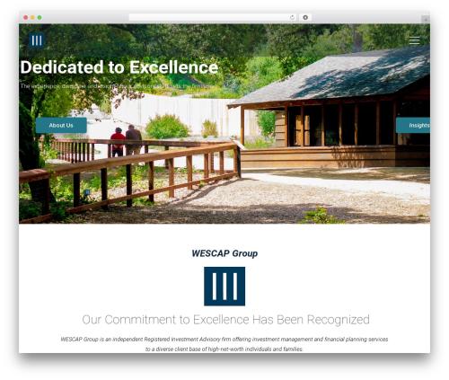Best WordPress theme Wizelaw - wescapgroup.com