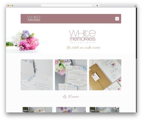 Betheme WordPress template - whitememories.com