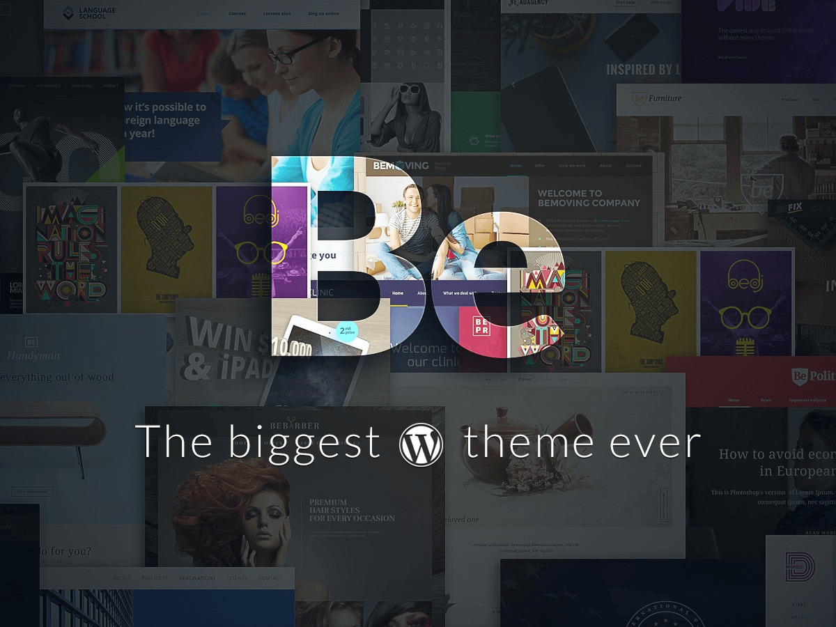 Betheme WordPress website template