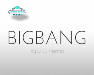 BigBang WordPress website template
