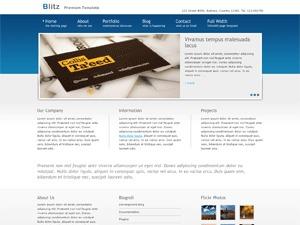 Blitz3 best portfolio WordPress theme