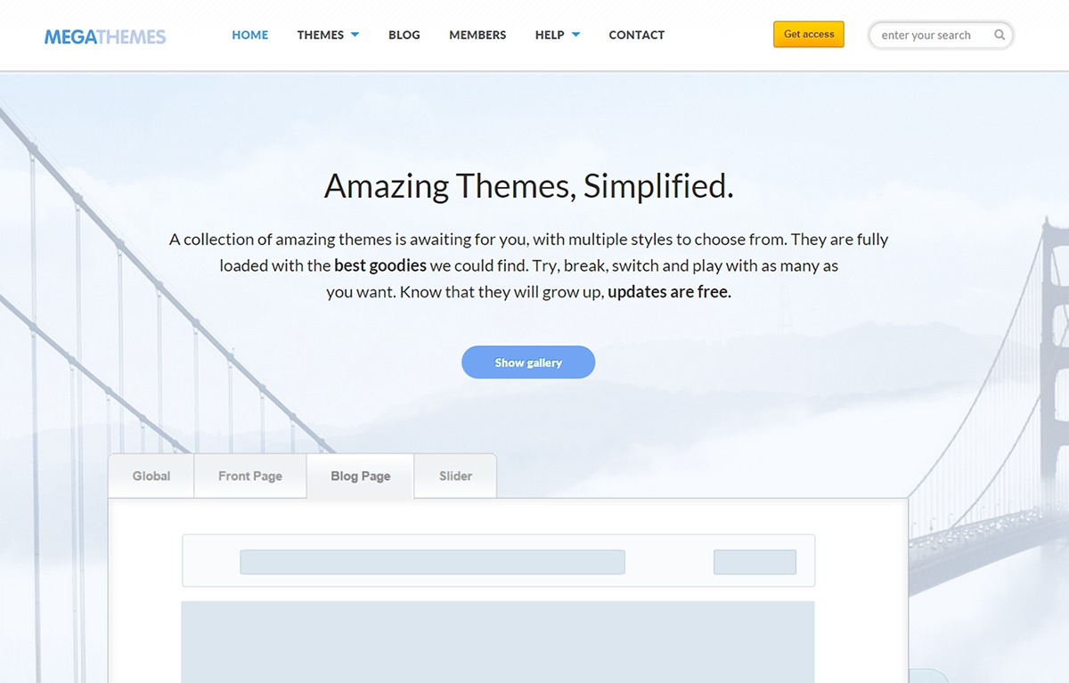 Color best portfolio WordPress theme