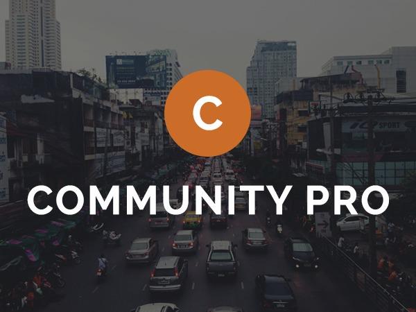 Community Pro Theme WordPress theme design