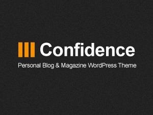 Confidence WordPress magazine theme