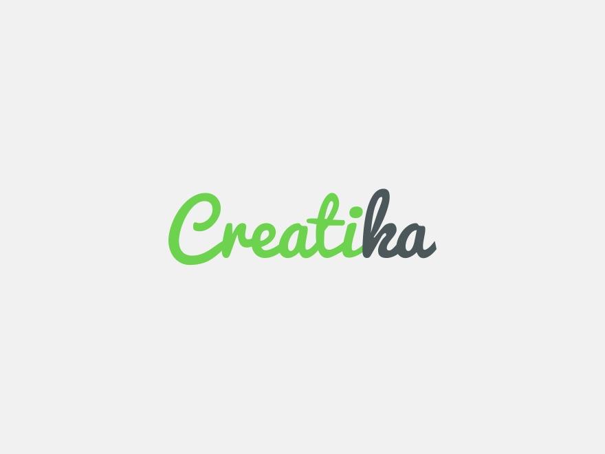 Creatika WordPress personal blog WordPress theme