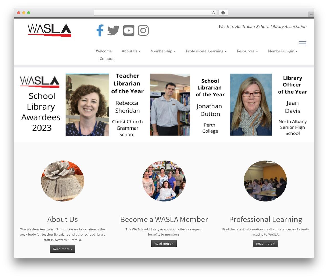 Customizr free WordPress theme - wasla.asn.au