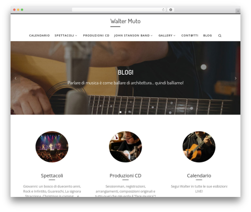 Customizr free WP theme - waltermuto.it