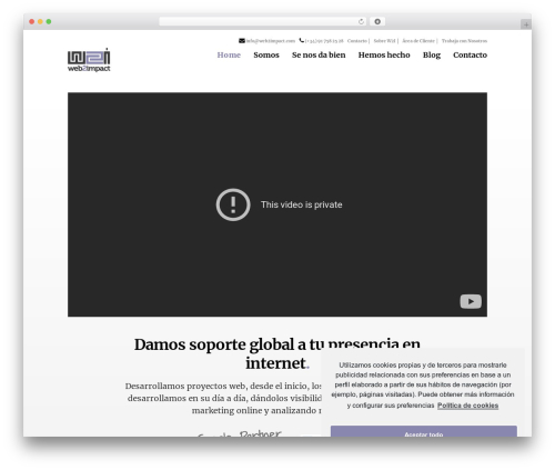 Deck premium WordPress theme - w2i.es