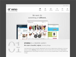 Diverso WordPress theme