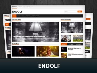 Endolf WordPress theme
