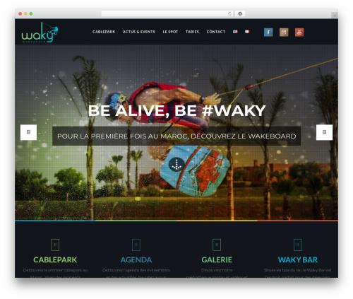EXO Theme WordPress theme - wakymarrakech.com