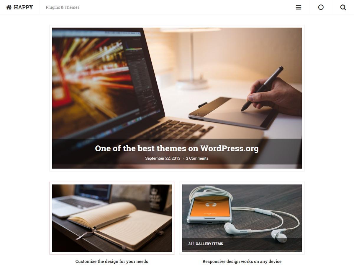 Extant best free WordPress theme
