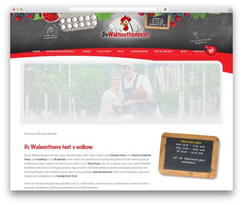 Flatsome food WordPress theme - walnoothoeven.nl