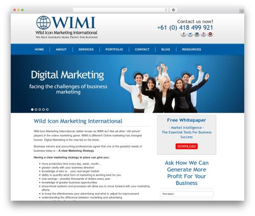 Gantry Theme for WordPress WordPress template - wildiconmarketinginternational.com