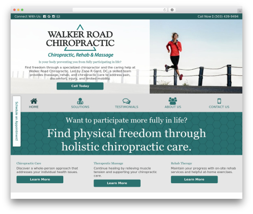 Headway Base WordPress theme - walkerroadchiro.com