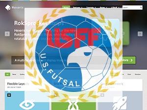 Hexeris Futsal Modified WordPress theme