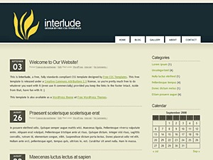 Interlude premium WordPress theme