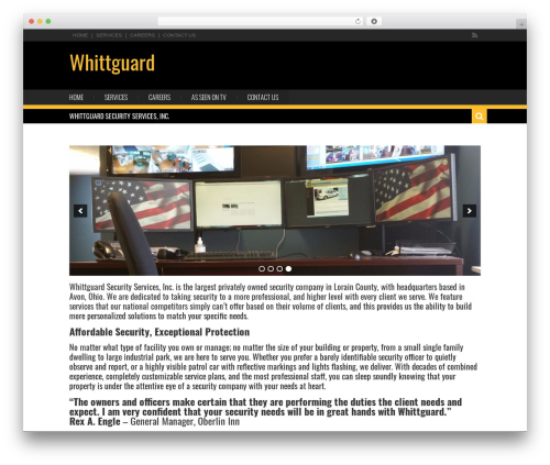 Karo Light theme WordPress - whittguard.com