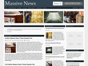 Massive News WordPress magazine theme