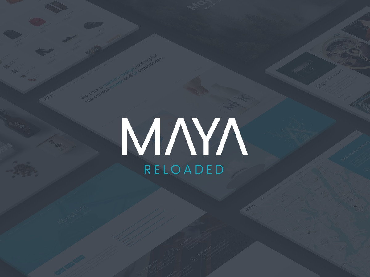 Maya Reloaded WP template