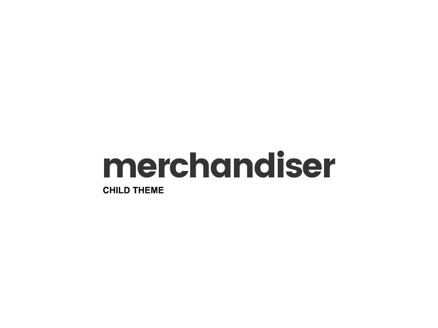 Merchandiser Child best WordPress theme