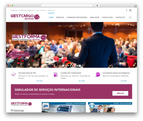 Mexin WP template - westcargo.pt