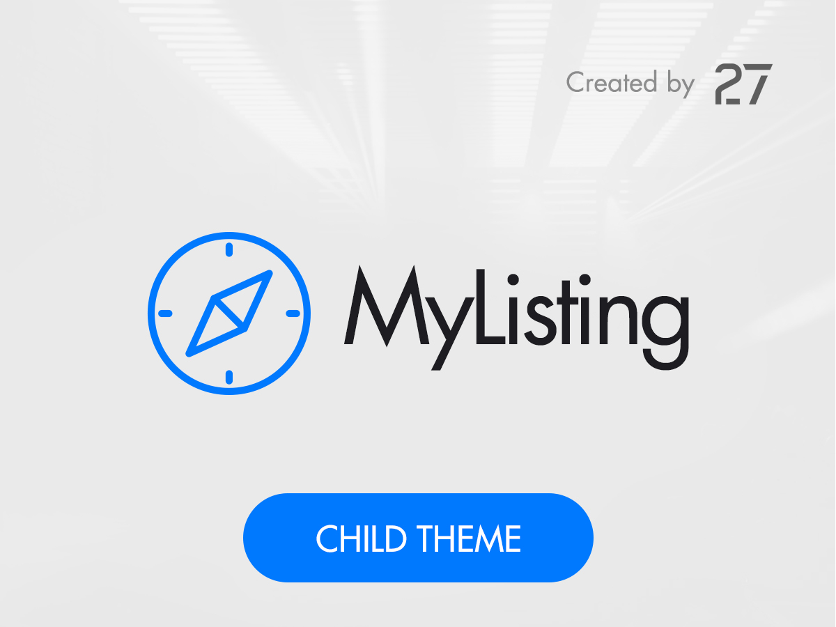 My Listing Child WordPress page template