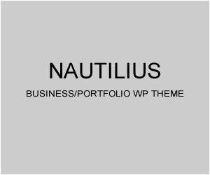 Nautilius WordPress template for business
