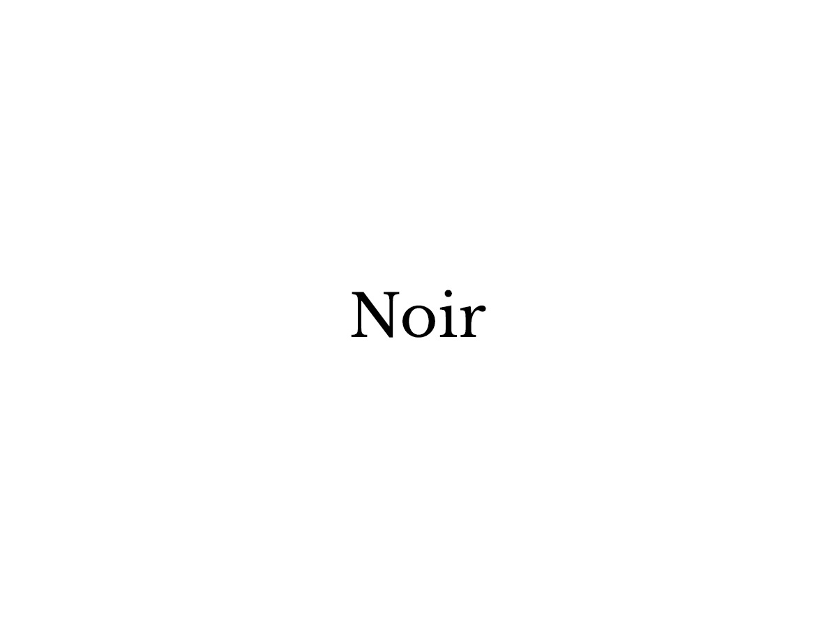 Noir WordPress blog template