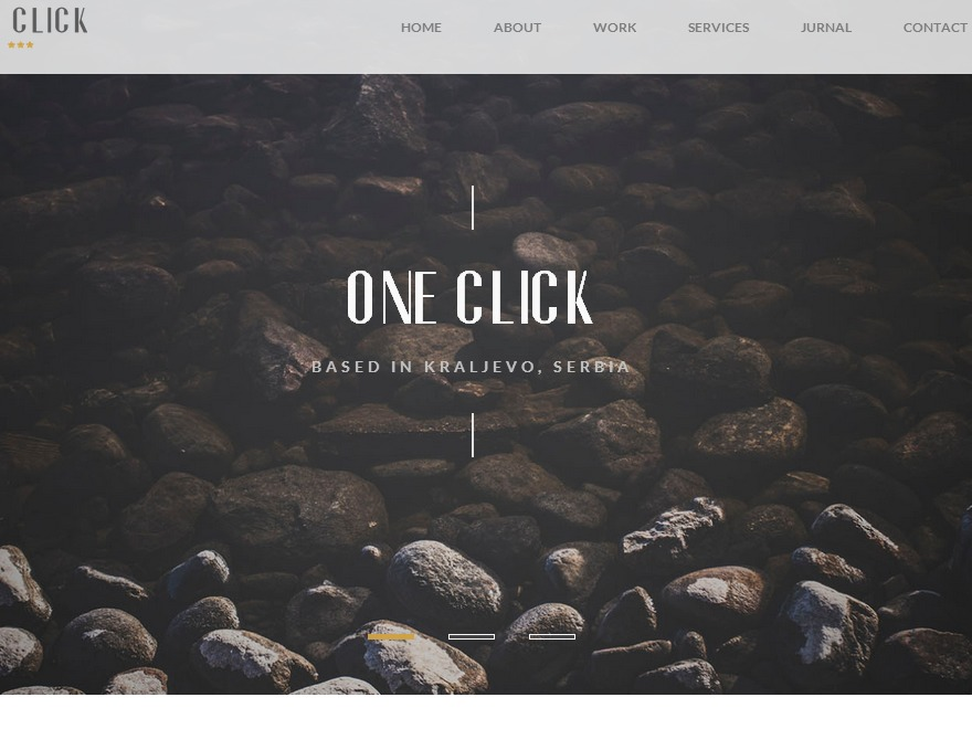 One Click newspaper WordPress theme