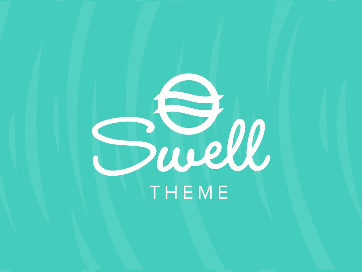 Organic Swell WordPress blog template
