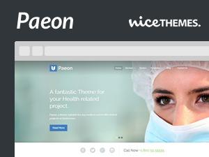 Paeon template WordPress