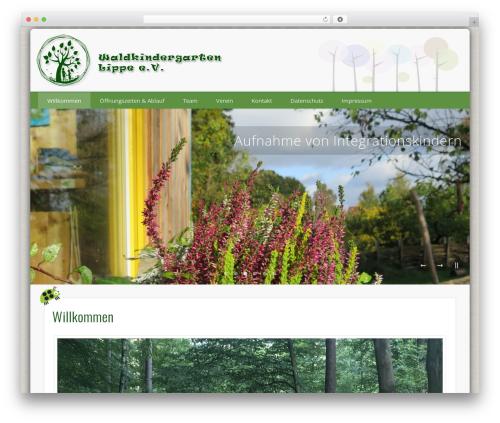 Pinboard theme WordPress - waldkindergarten-lippe.de