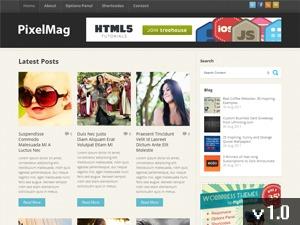 PixelMag best WordPress magazine theme