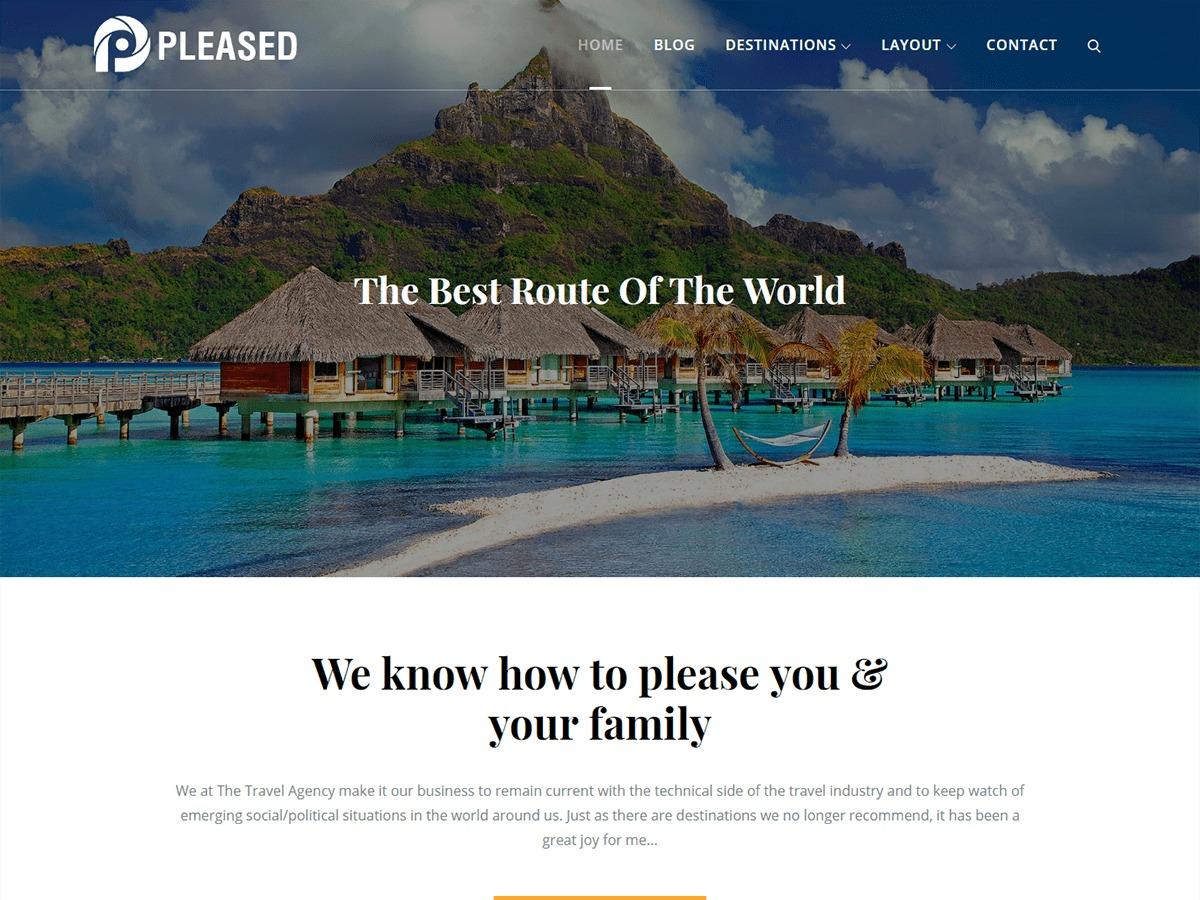 Pleased WordPress gaming theme