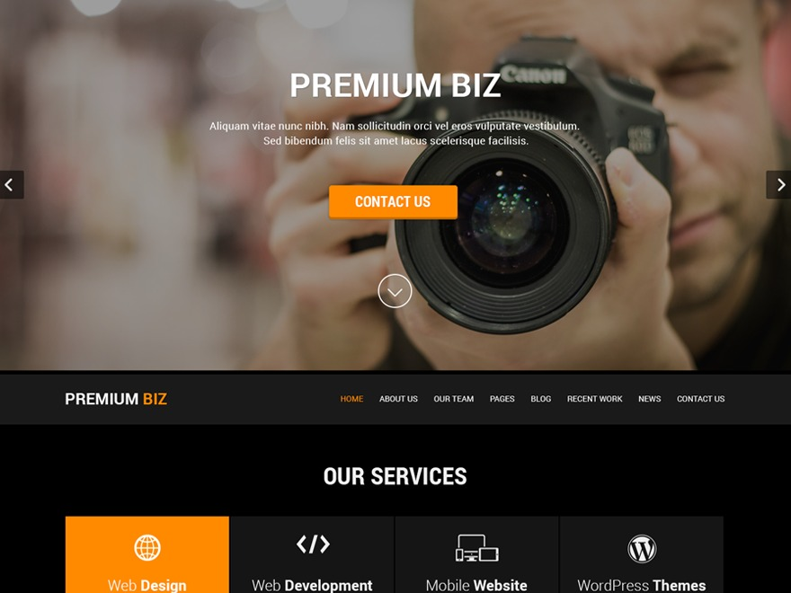 SKT Black Pro WordPress ecommerce theme