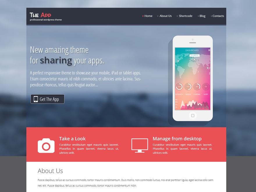 SKT The App wallpapers WordPress theme