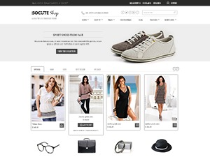Socute Free WordPress ecommerce theme