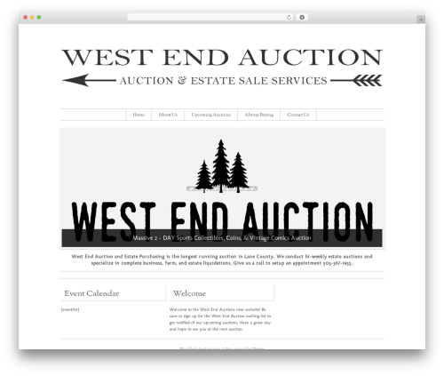 Storefront Elegance best WooCommerce theme - weaauction.com