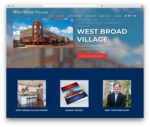 Story WP template - westbroadvillageproperties.com